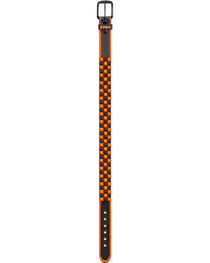 Stud Team Belt BLACK/ORANGE