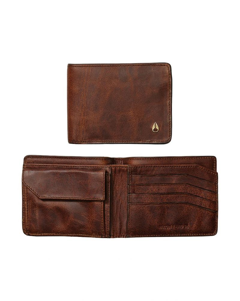 Arc SE Bi-Fold Wallet - Brown