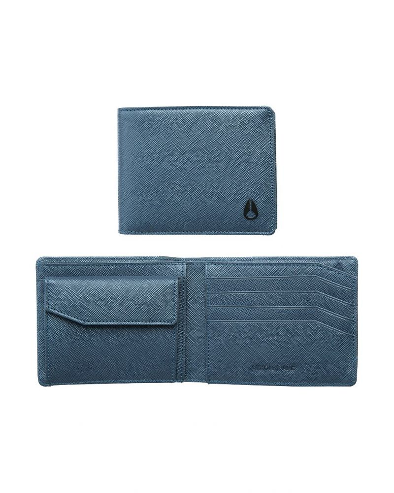 Arc Bi-Fold Wallet - Navy