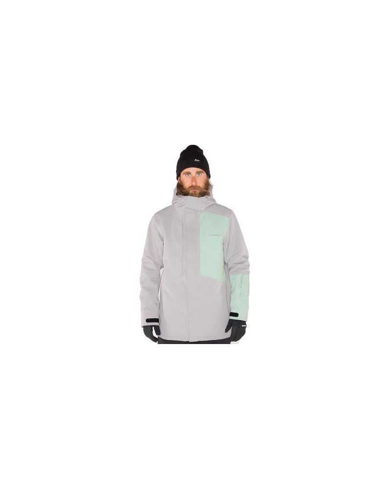 Oden Insulated Jacket PEWTER