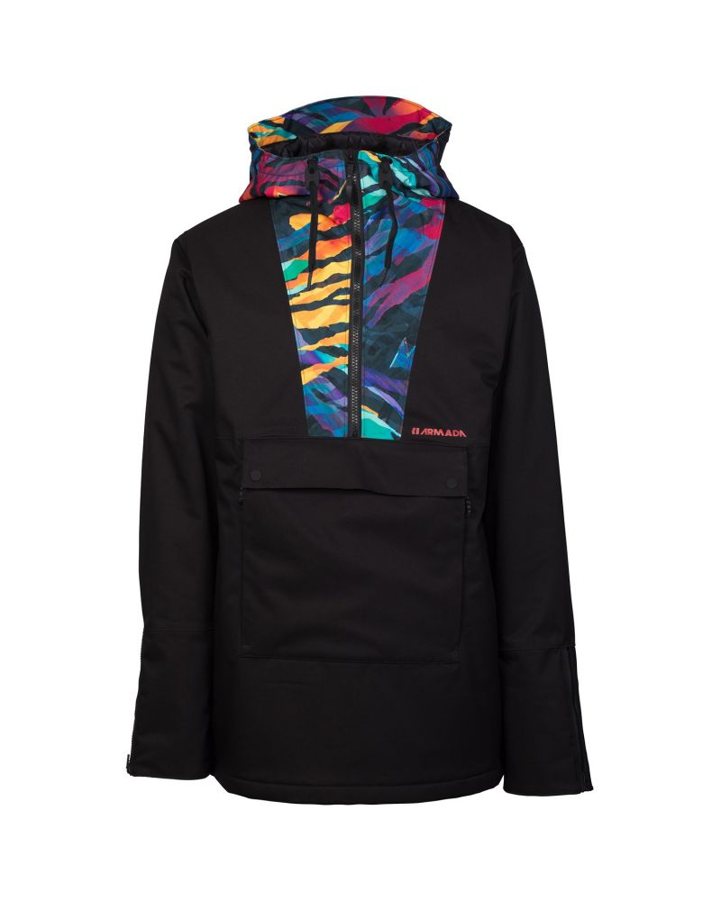 Rankin Stretch Anorak Black