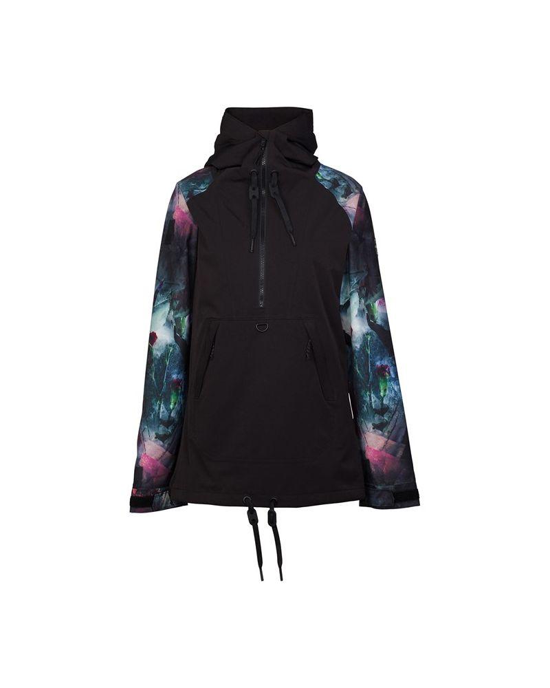 Saint Pullover Jacket Black
