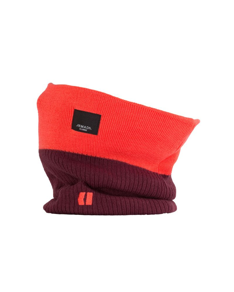 TIOGA NECK WARMER - Red