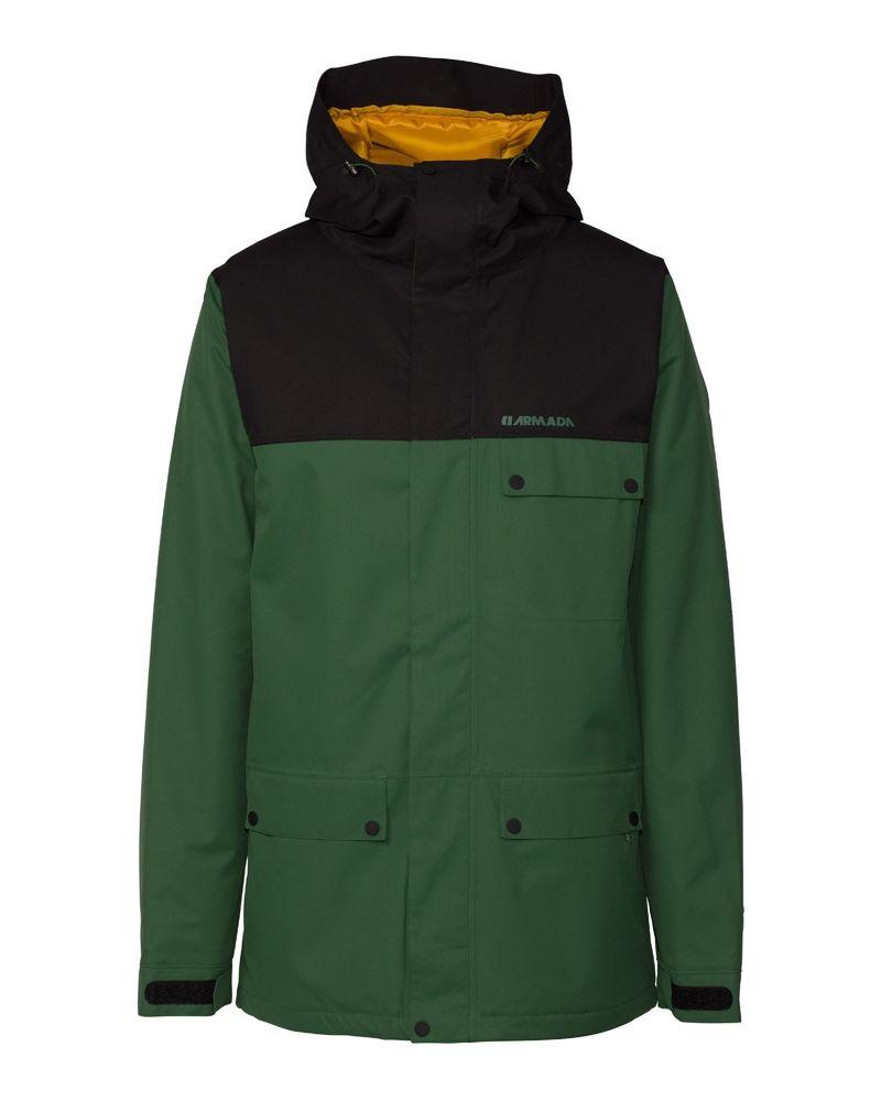 Emmett Insulated Jacket Forest Green