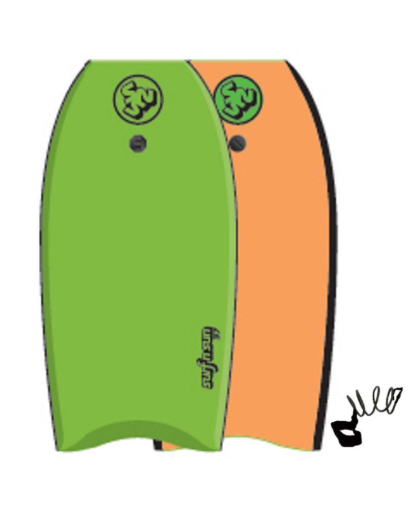 """37"""" Bodyboard Similar Lime orange"""