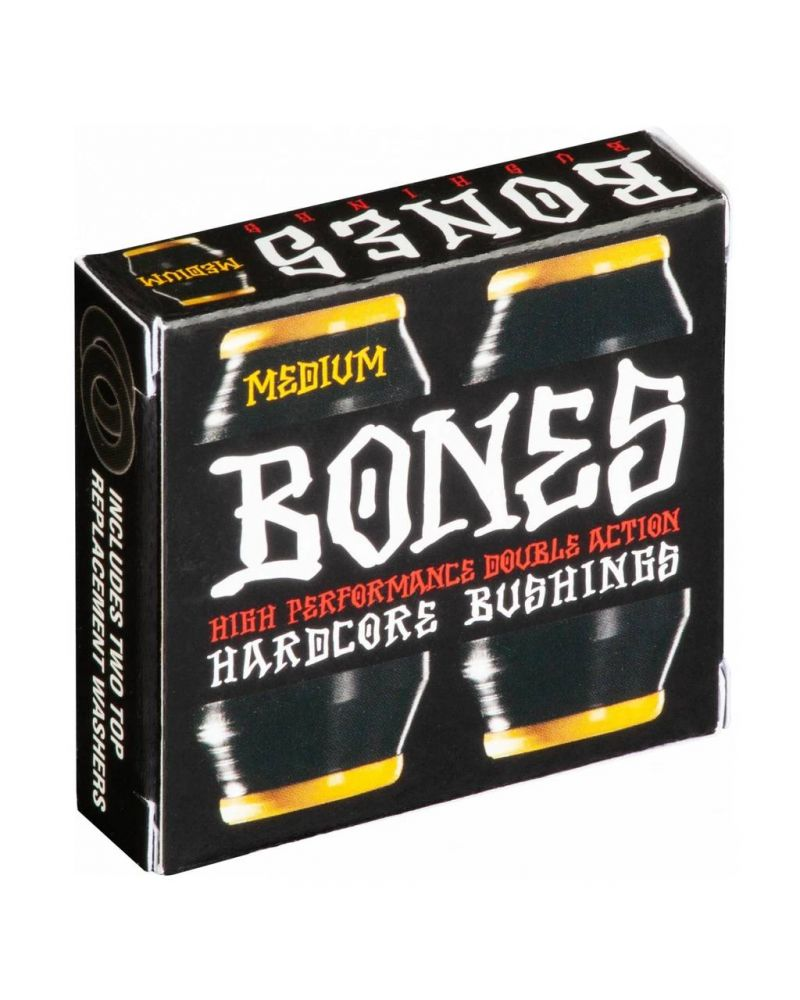 HARDCORE BUSHINGS MEDIUM BLACK/YELLOW