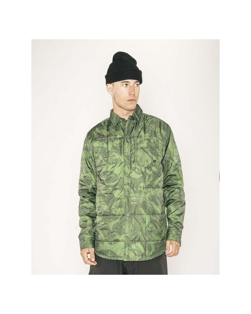 Bryce Insulated Shirt Forest Green