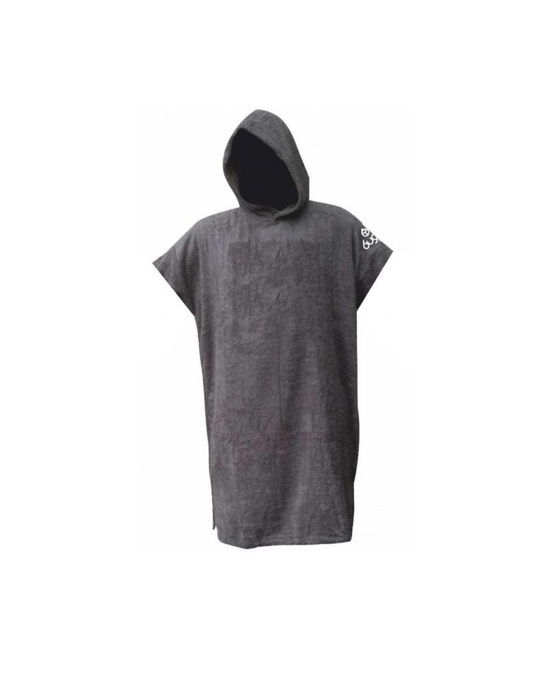 Frottee Change Robe Surf Poncho Grey