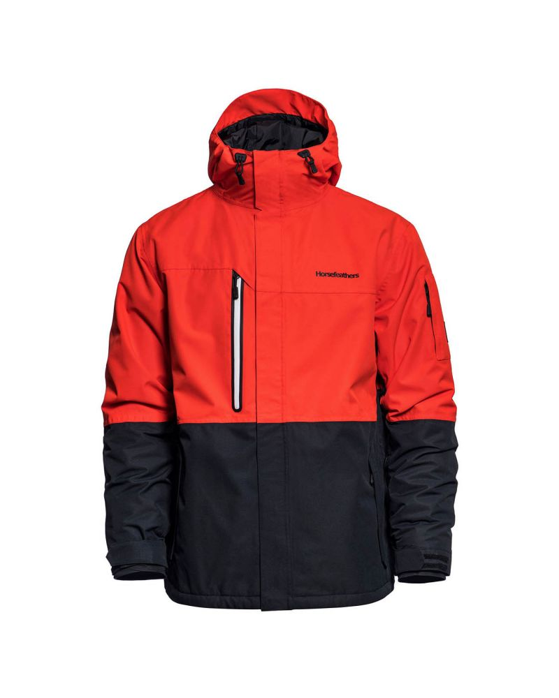 RIPPLE JACKET fiery red
