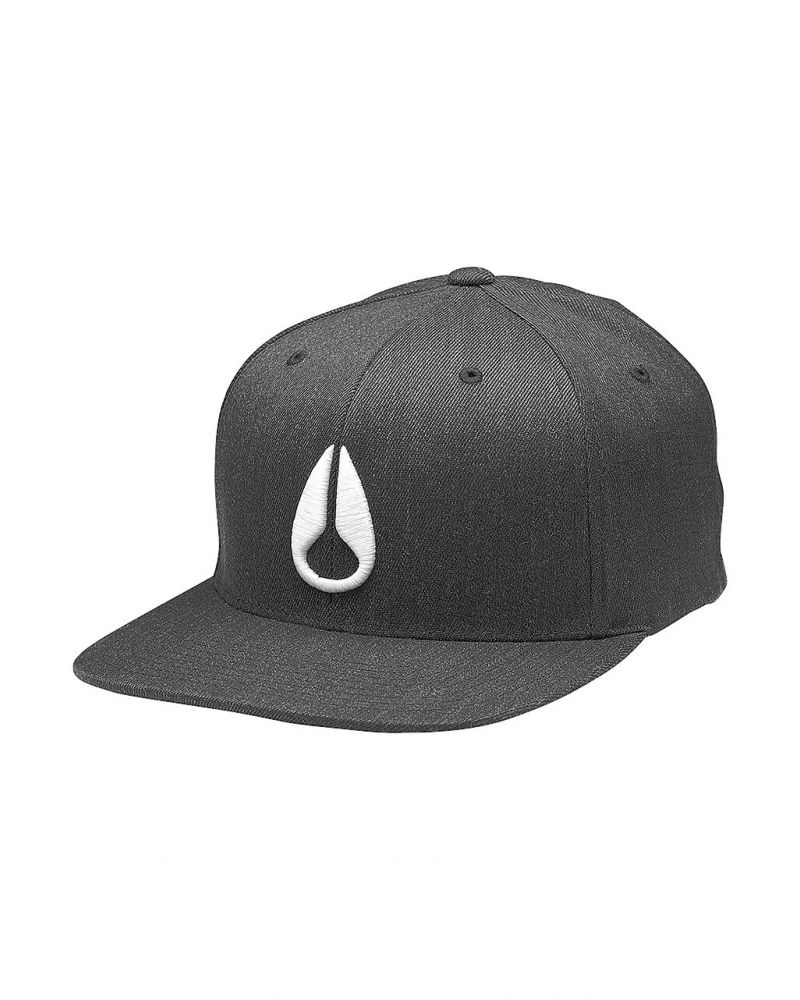 Deep Down FF Athletic Fit Hat Black Heather / White