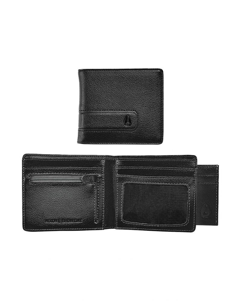 NIXON SHOWTIME BI-FOLD ZIP - All Black