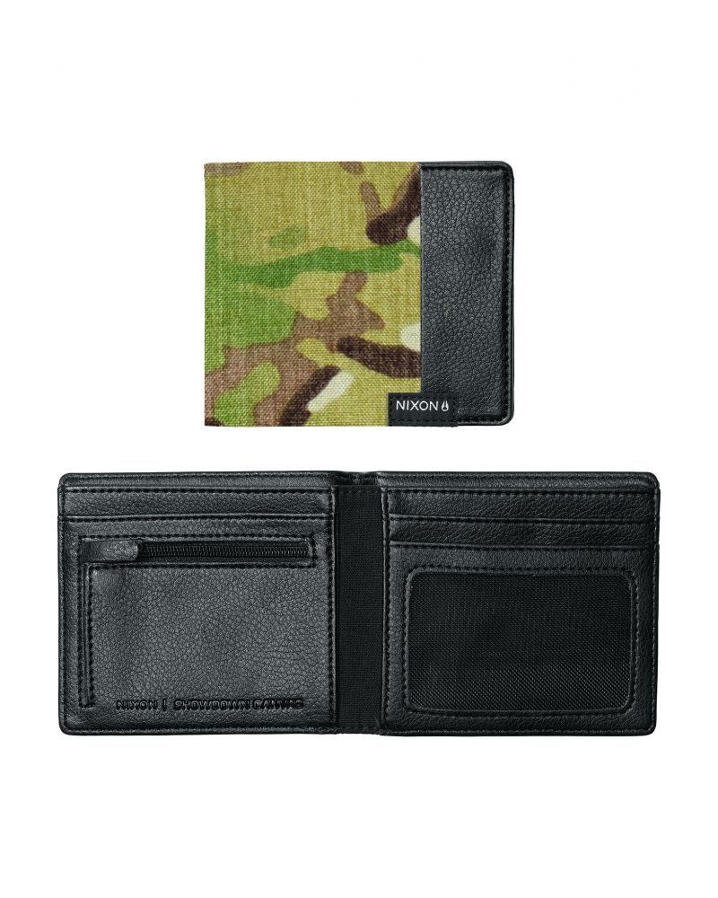 Showtime Bi-Fold ID Zip Wallet Multicam