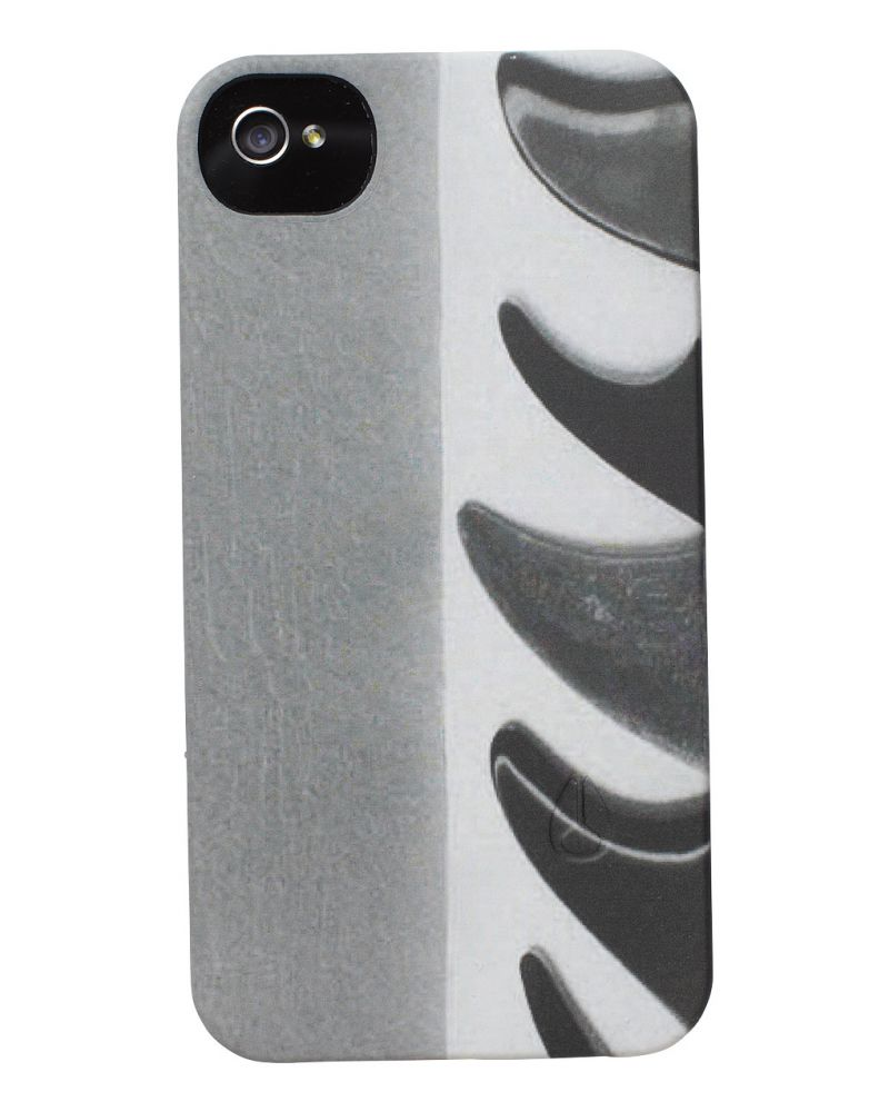 Mitt Print iPhone 4 Case - Fins