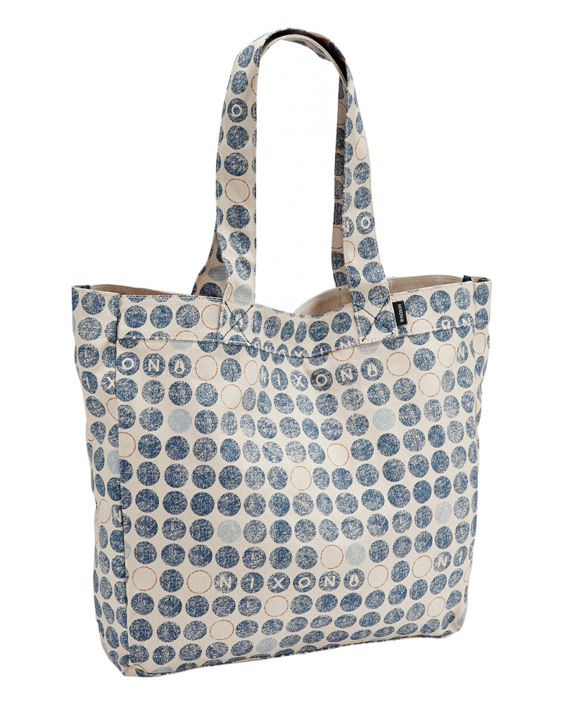 Tree Hugger Tote - Bone Dots