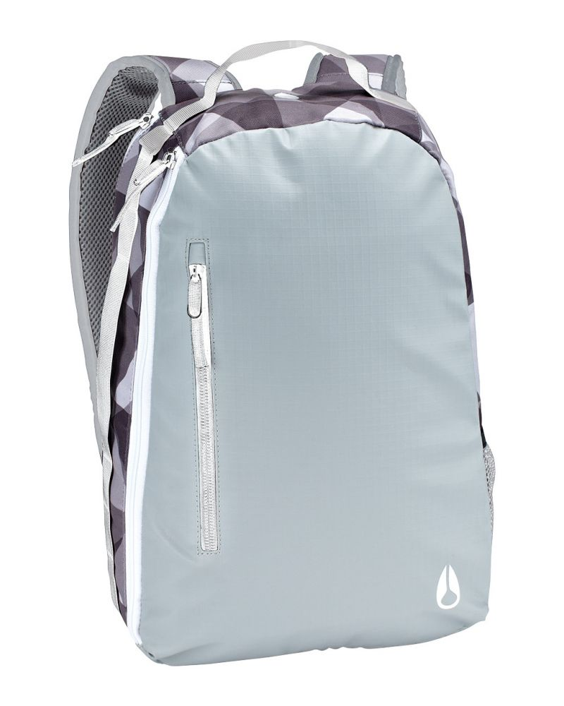 The Arch Backpack II - Grey / White