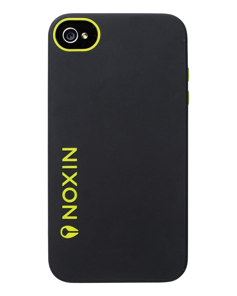Buller iPhone 4 Case - Black / Lime