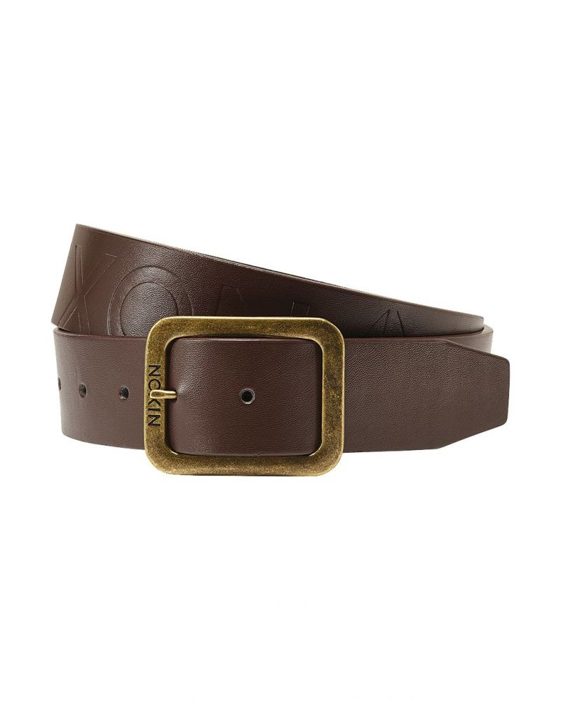 DE FACTO BELT II - Chestnut