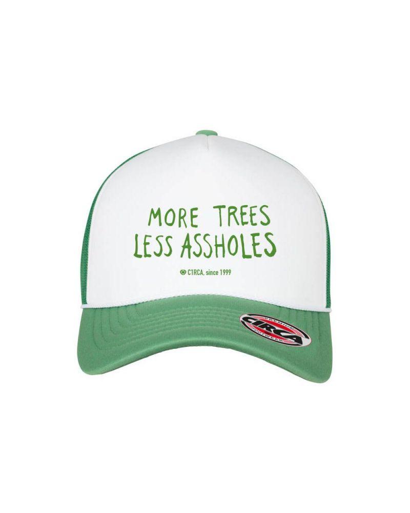 TREES FLEXFIT TRUCKER GREEN/WHITE/GREEN