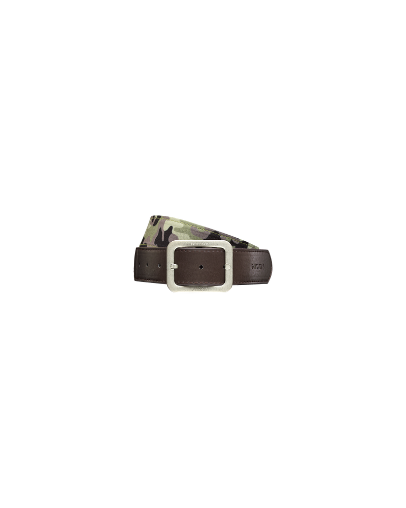Faction Reversible Belt - Woodland Camo