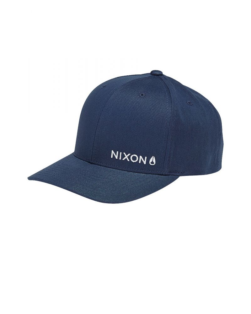LOCKUP SNAPBACK HAT - Navy