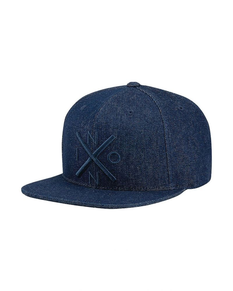 Exchange Snapback Hat Denim