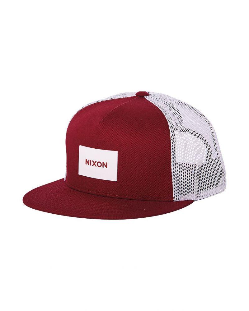 Team Trucker Hat Burgundy