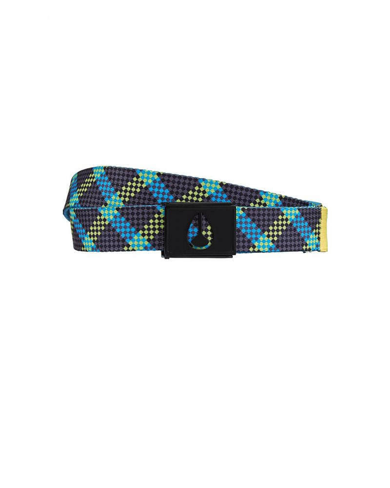 FLASH BELT - Citrus / Bright Blue