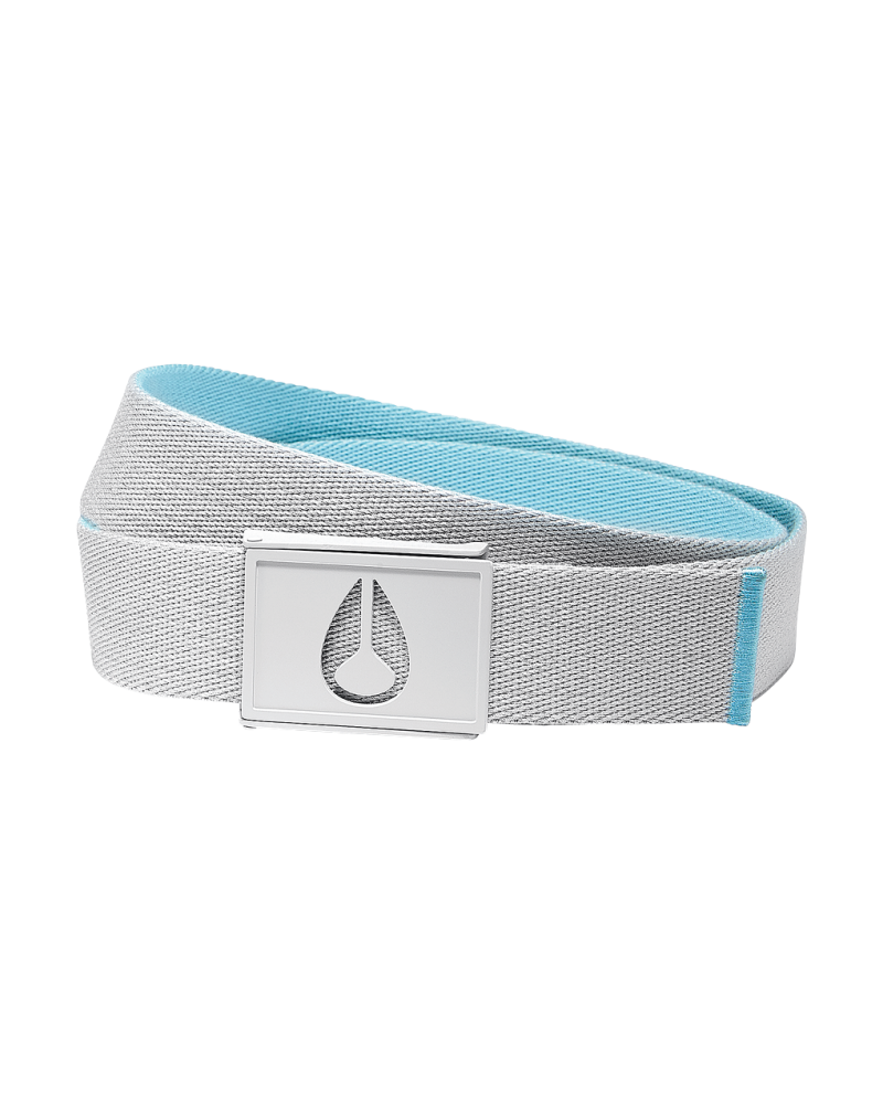 SPY BELT - Light Gray / Mint