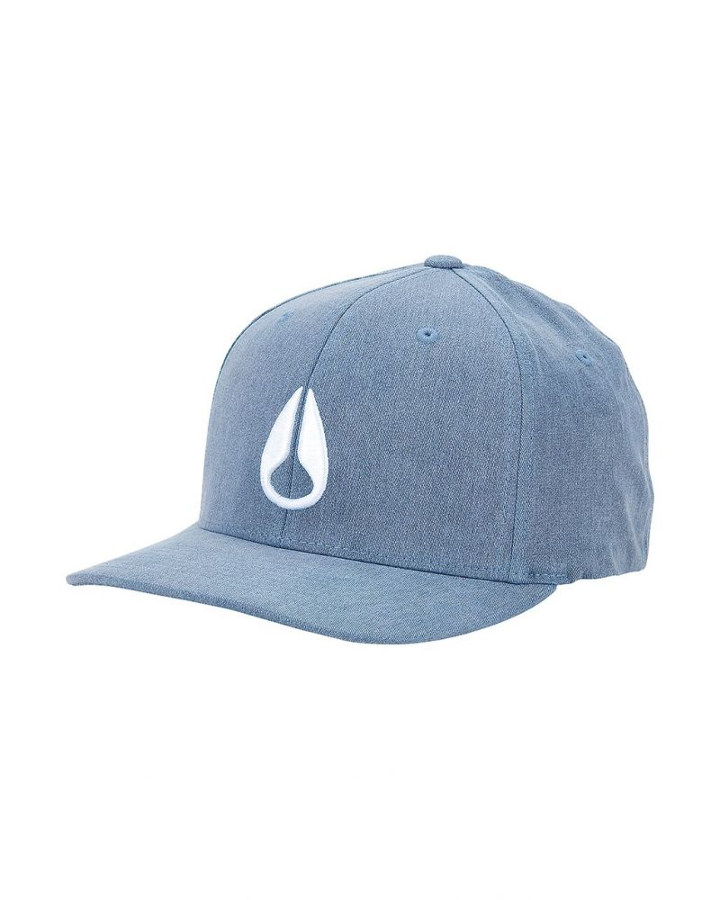 Deep Down Athletic Textured Hat Blue