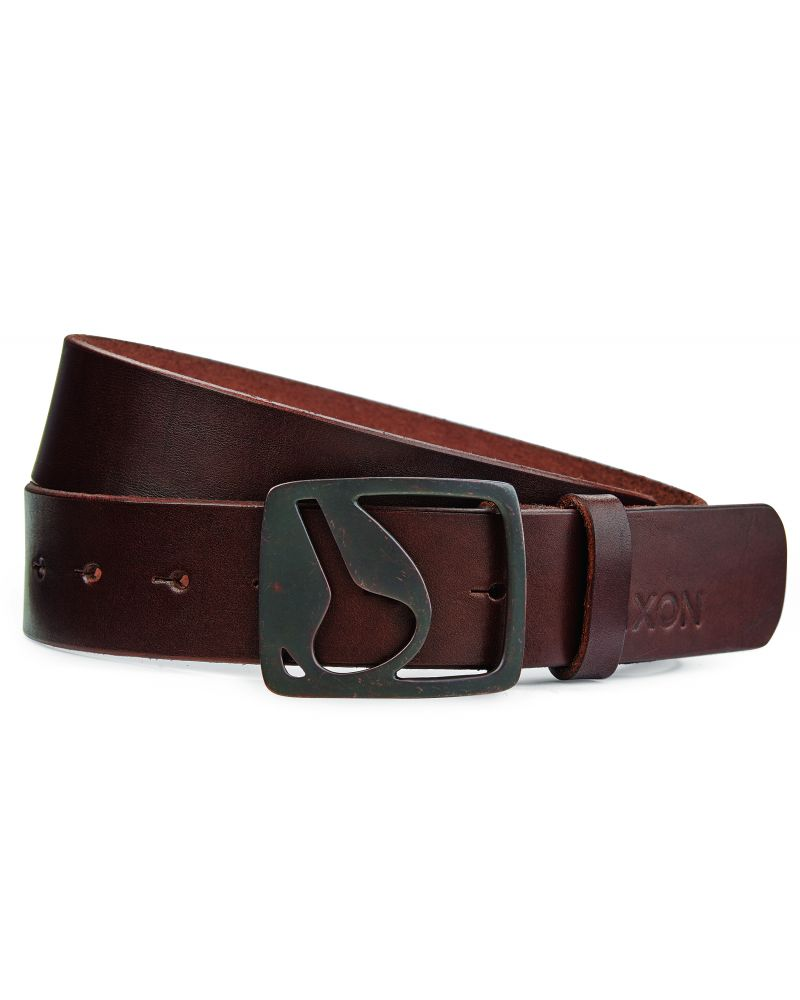 NIXON Icon Cut-Out Belt II - Chocolate