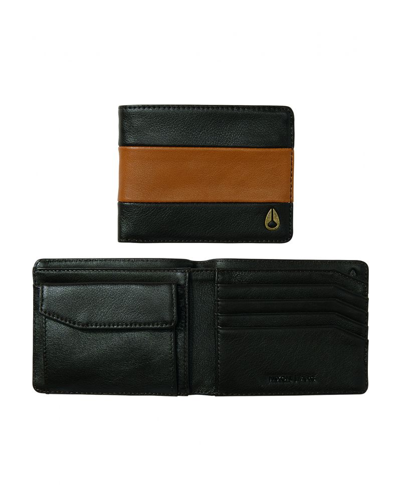 Аrc Bi-Fold Wallet - Brown / Saddle