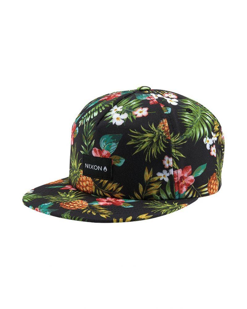 Tropics Snapback Hat Black / Multi