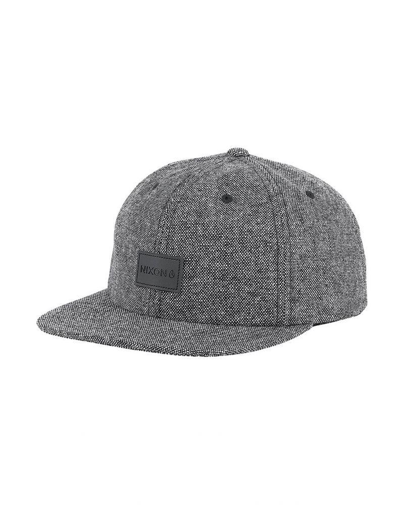 WRANGLER SNAPBACK HAT - Black Wool