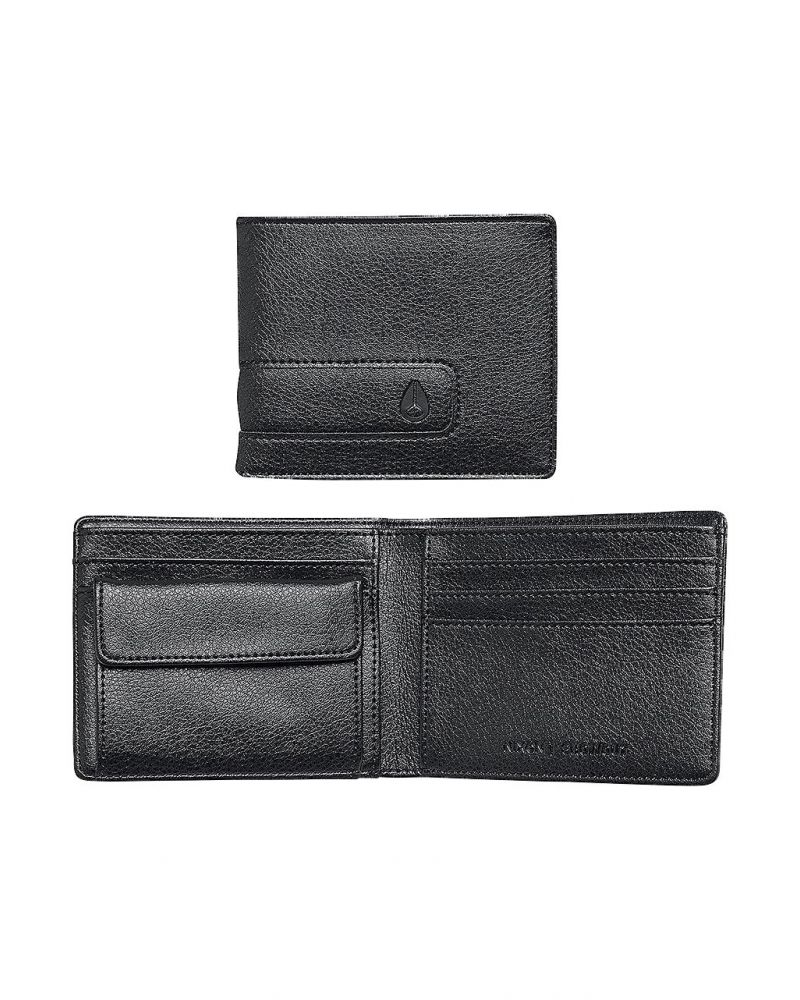 SHOWOUT BI-FOLD WALLET - All Black