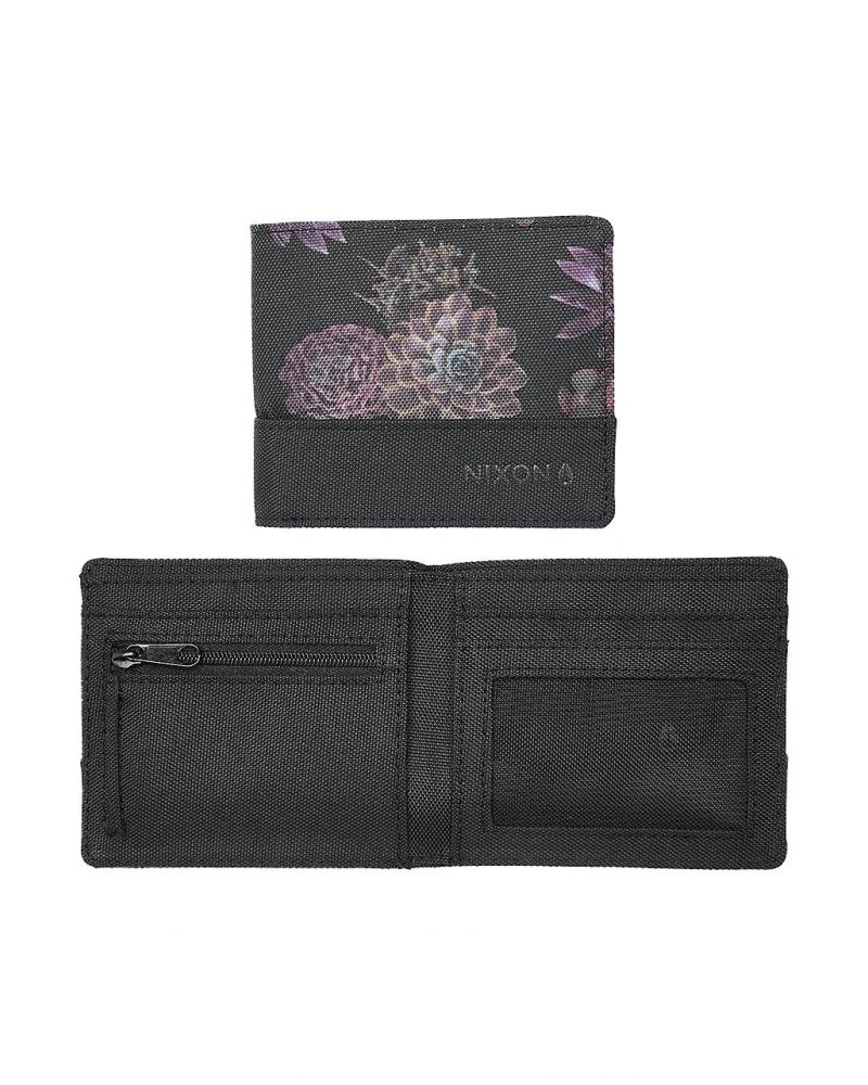 ATLAS NYLON  BI FOLD - Black Anthracite