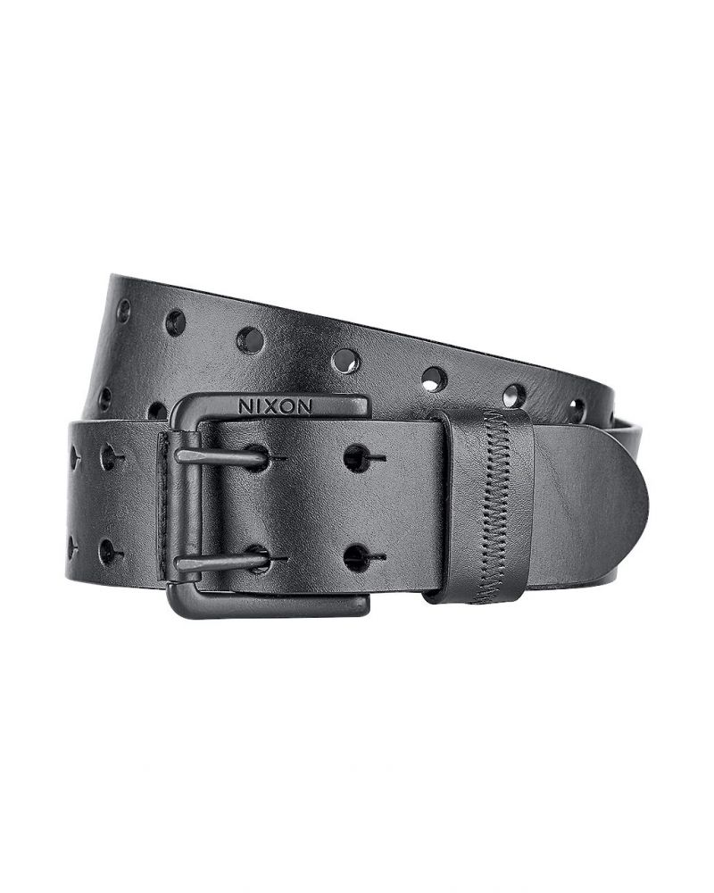 DOUBLE WIDE BELT - Black