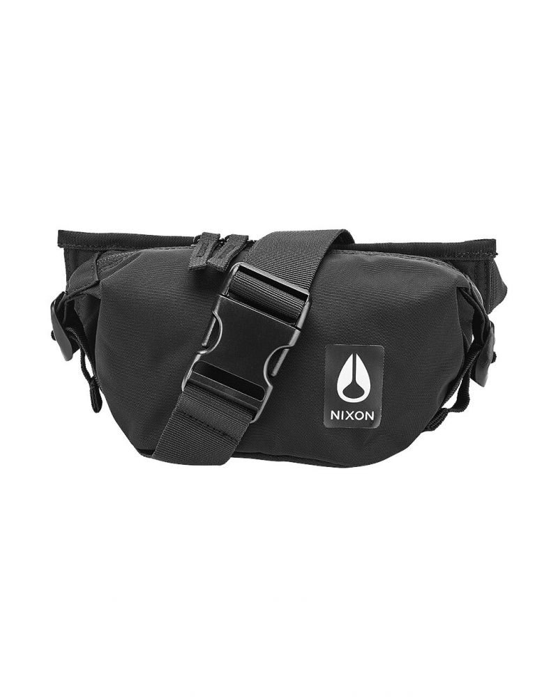 Trestles Hip Pack All Black Nylon
