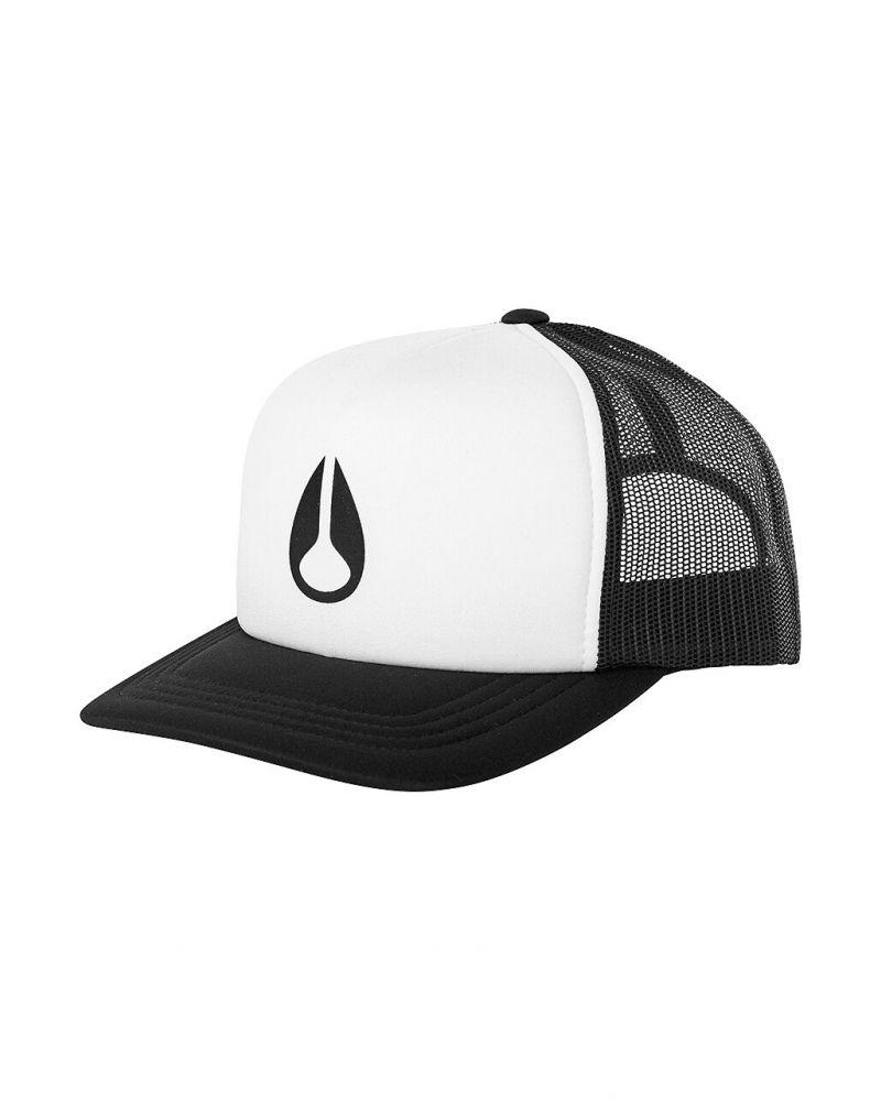 Byron Foam Trucker hat White / Black