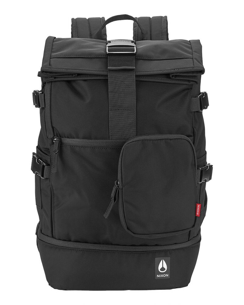 Shores Backpack All Black Nylon 25L