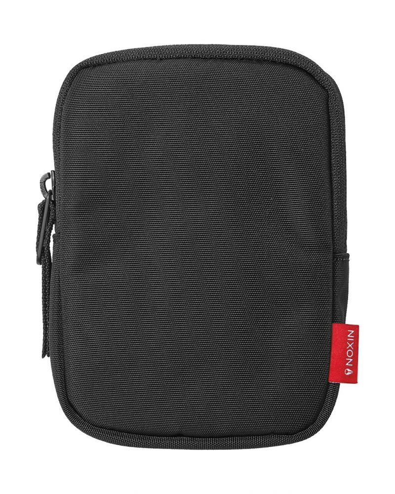 Plush Lined Utility Pod All Black Nylon