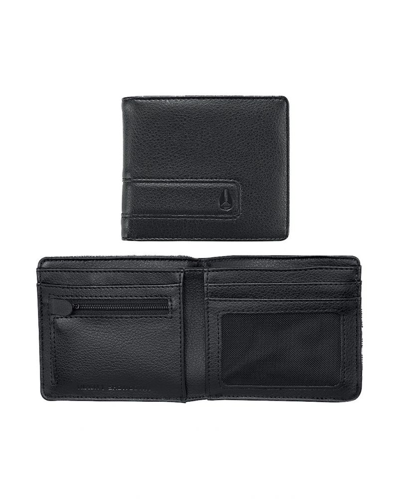 SHOWDOWN BI-FOLD ZIP - All Black