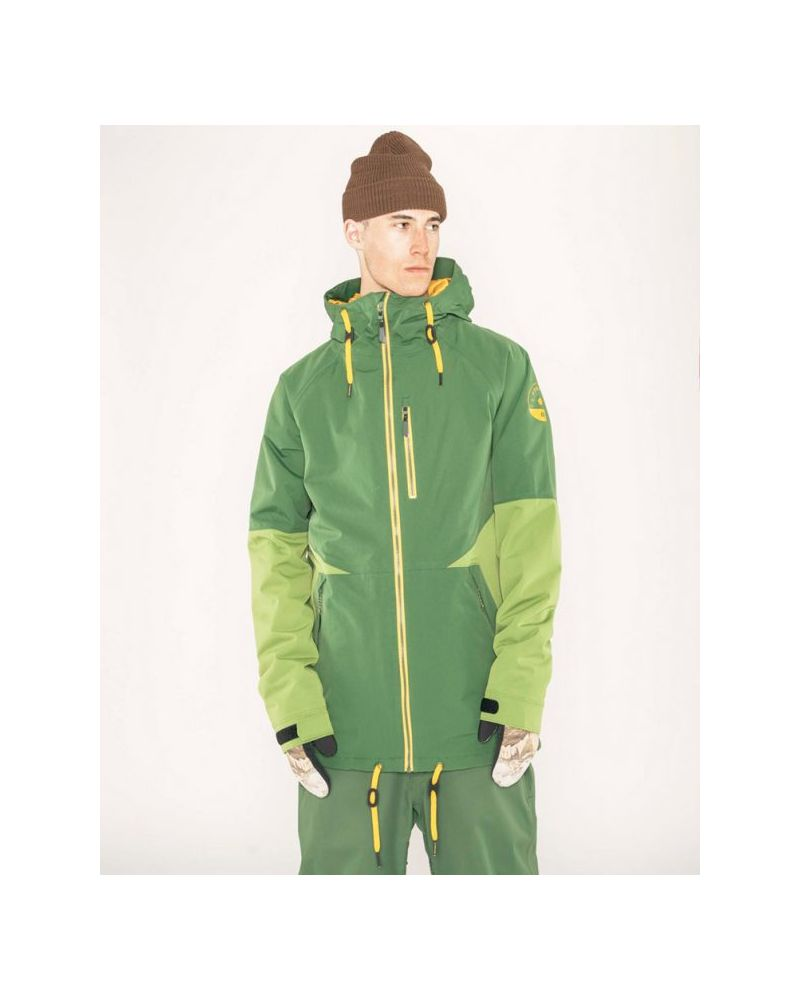 Carson Insulated Jacket Forest Green