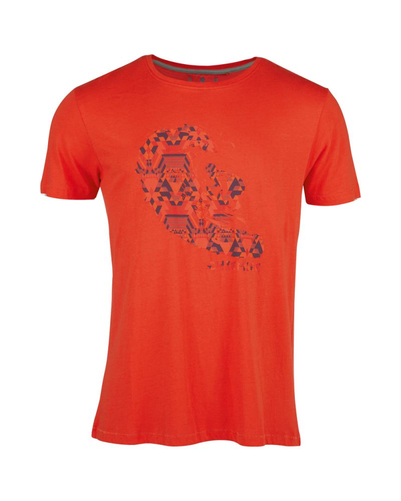 LARRY T-SHIRT - Red Clay