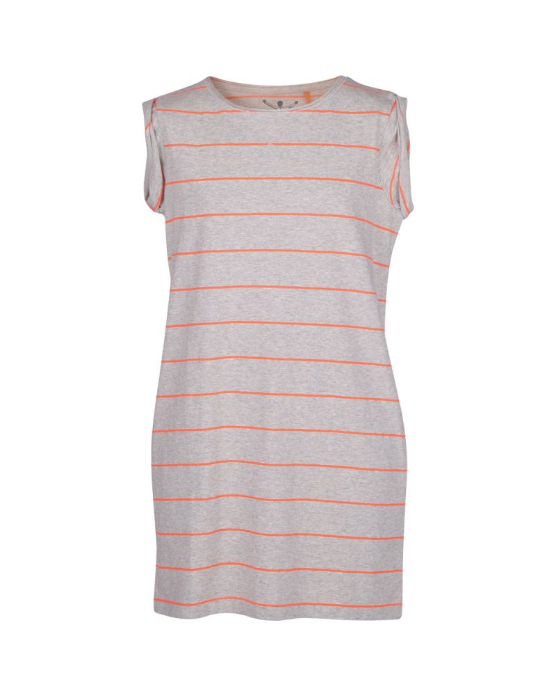 LUCIE J DRESS - Fine Stripe