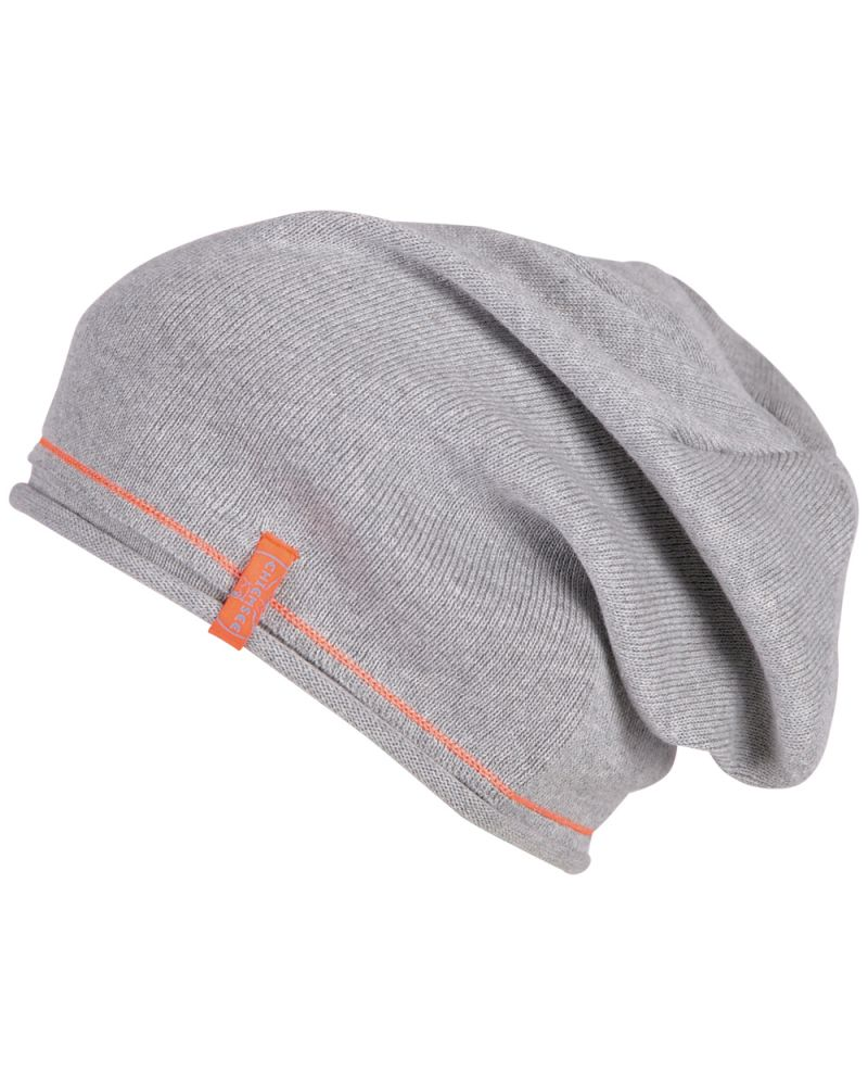RAINBOW BEANIE - Light Grey Malange
