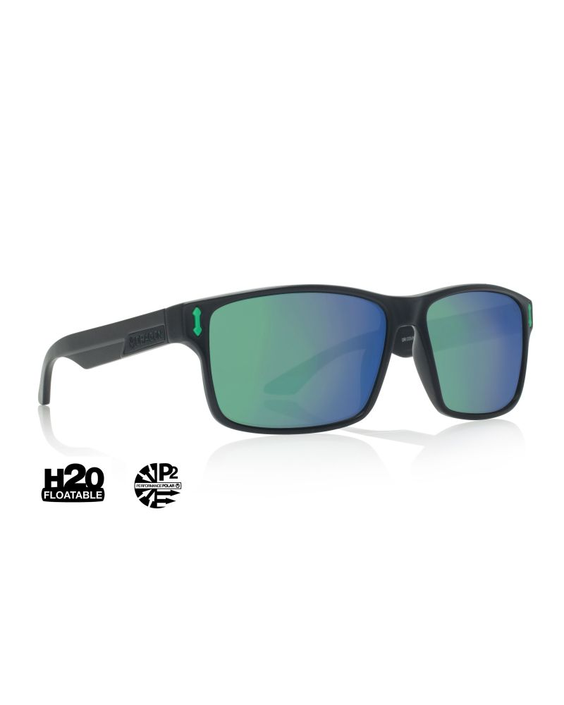 COUNT H2O - Matte Black / Green Ionized