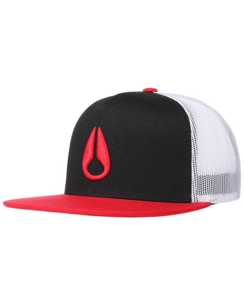 Deep Down Trucker Hat Black / Red