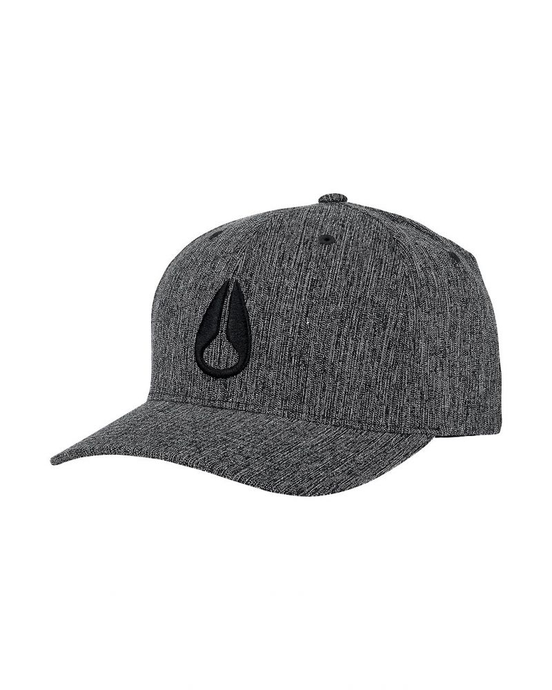 Deep Down Athletic Textured Hat Black Woven