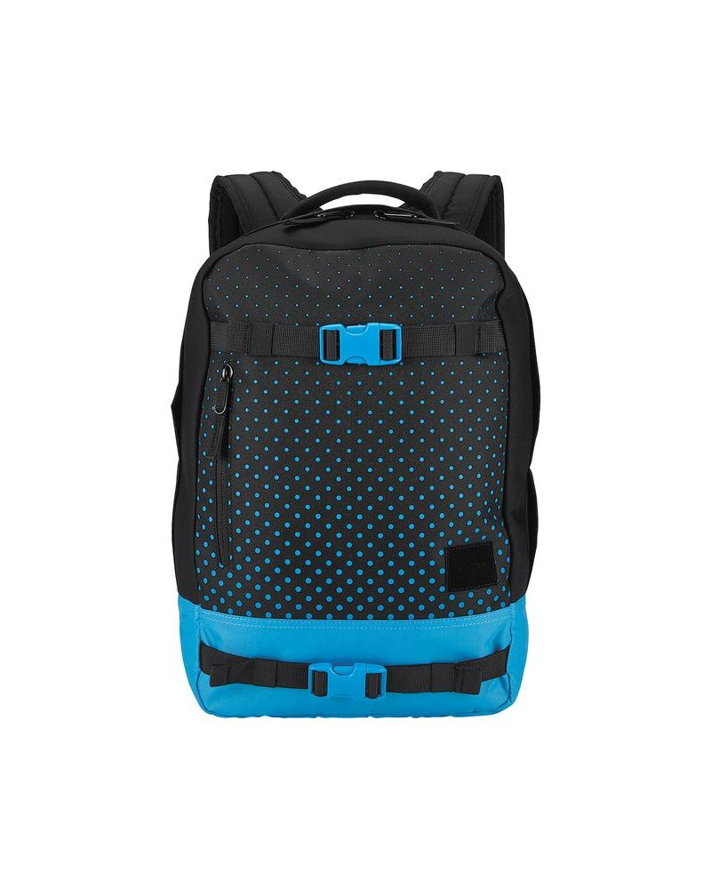 DEL MAR BACKPACK - Black / Blue 18 L