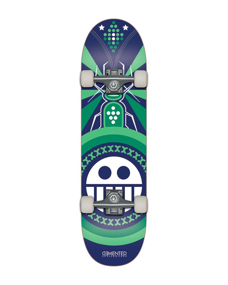 7.75 PRO SKATEBOARD INSECT BLUE